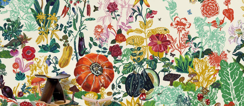 Natalie Lete - Domestic - papier peint enfants
