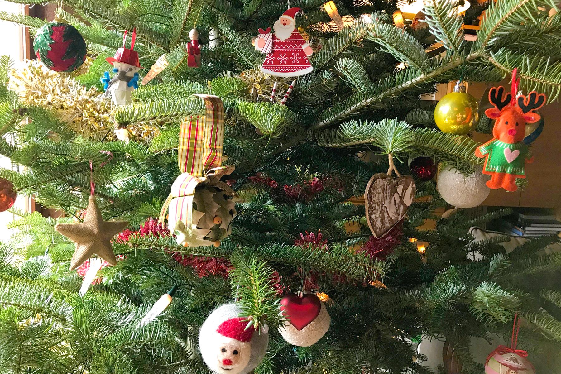 Playlist de Noël, sapin de Noël