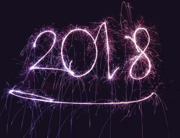 Happy new year 2018, bonne année à tous