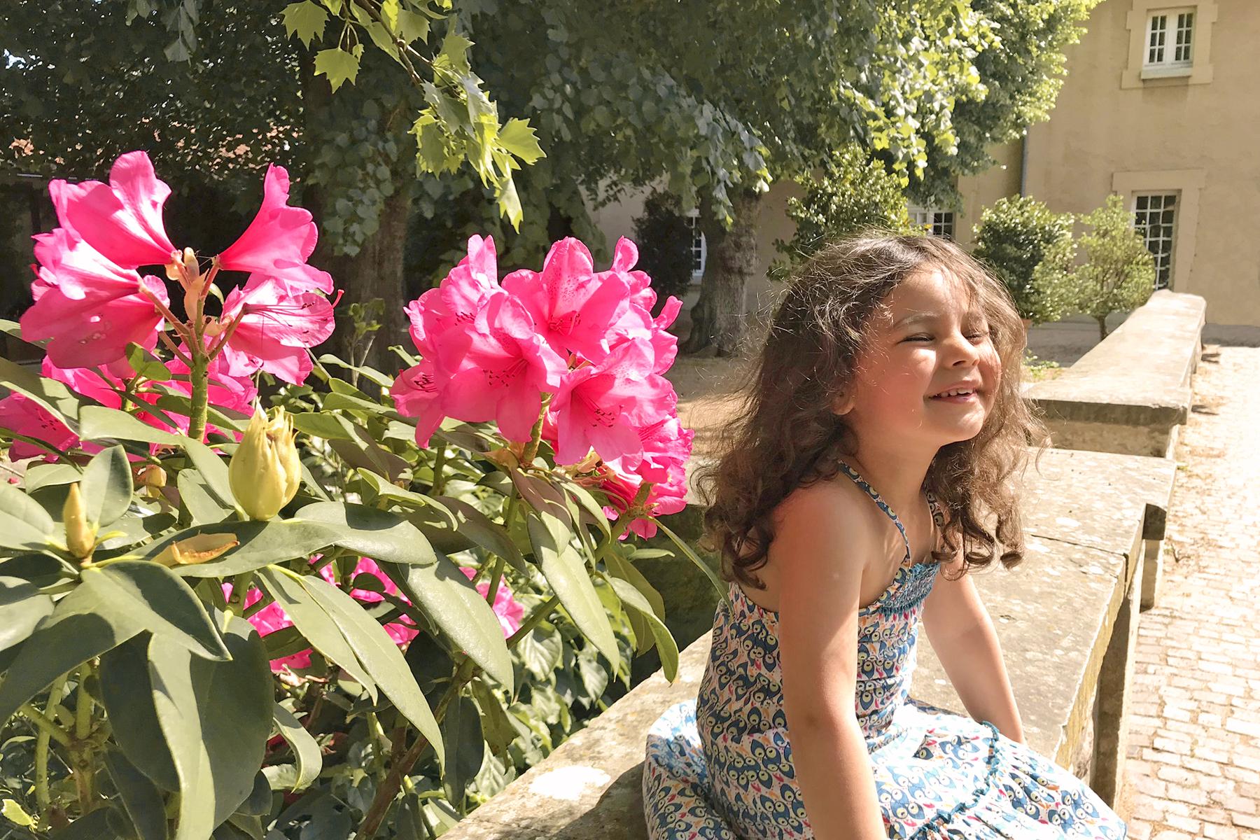 Domaine de Lacroix Laval, petite fille