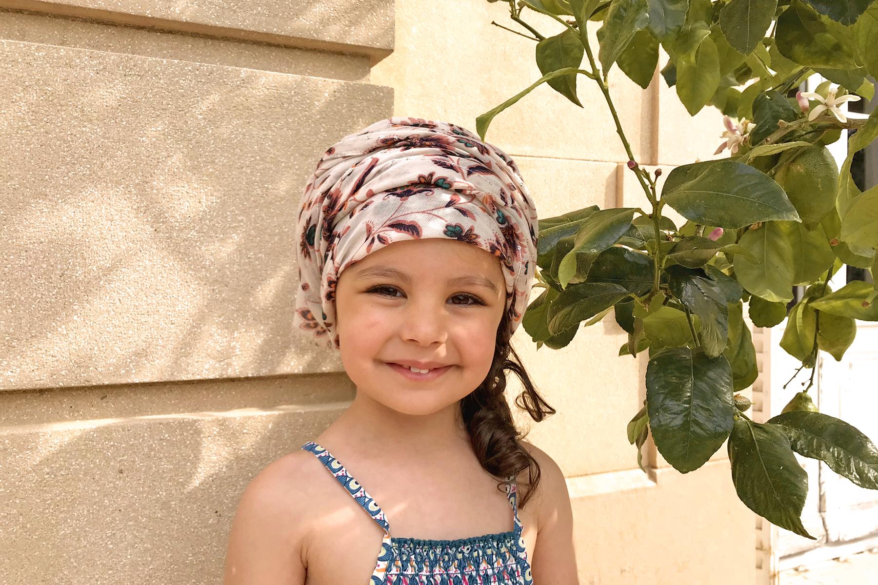 Domaine de Lacroix Laval, petite fille au turban