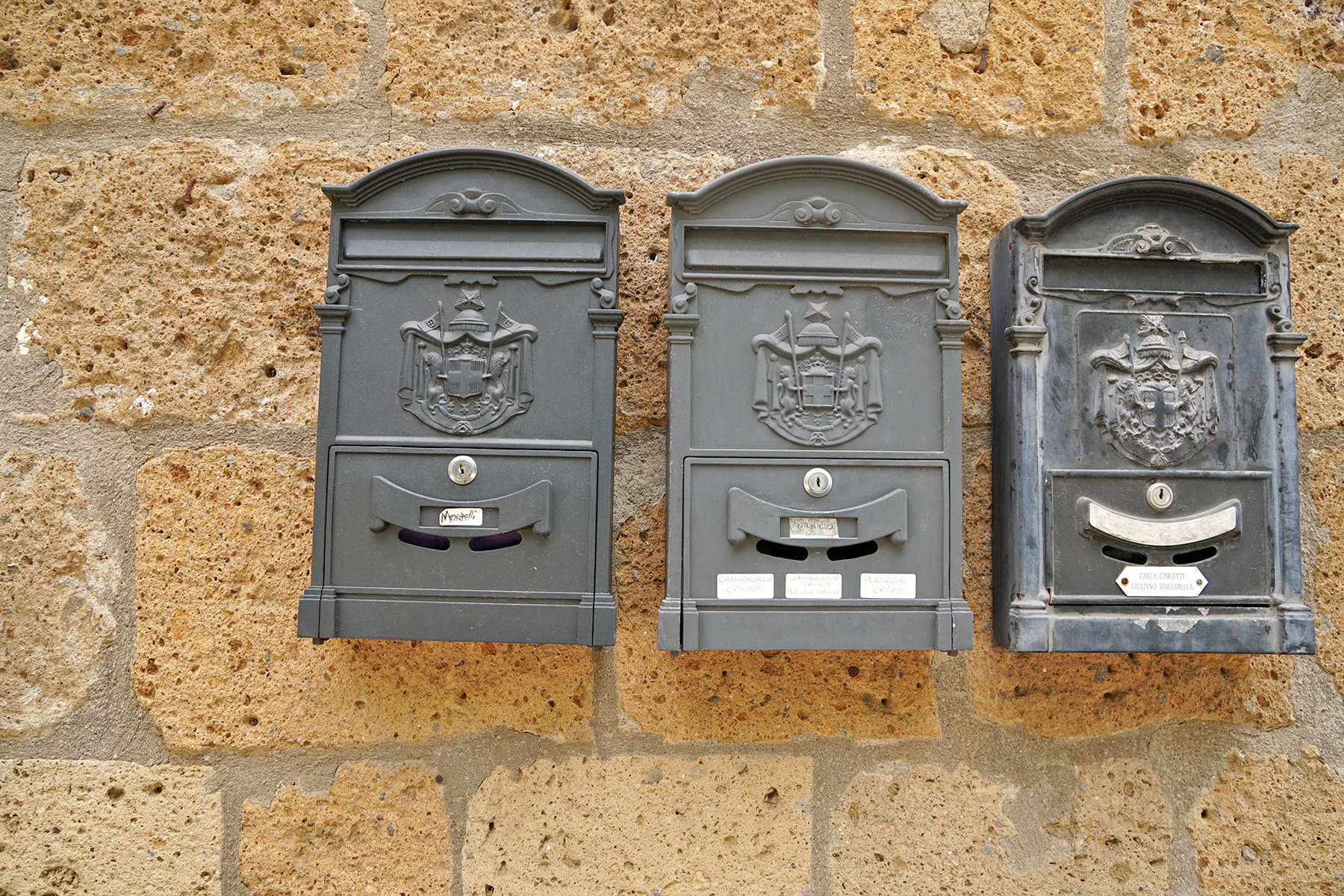 Boites aux lettres, Orvieto Italie
