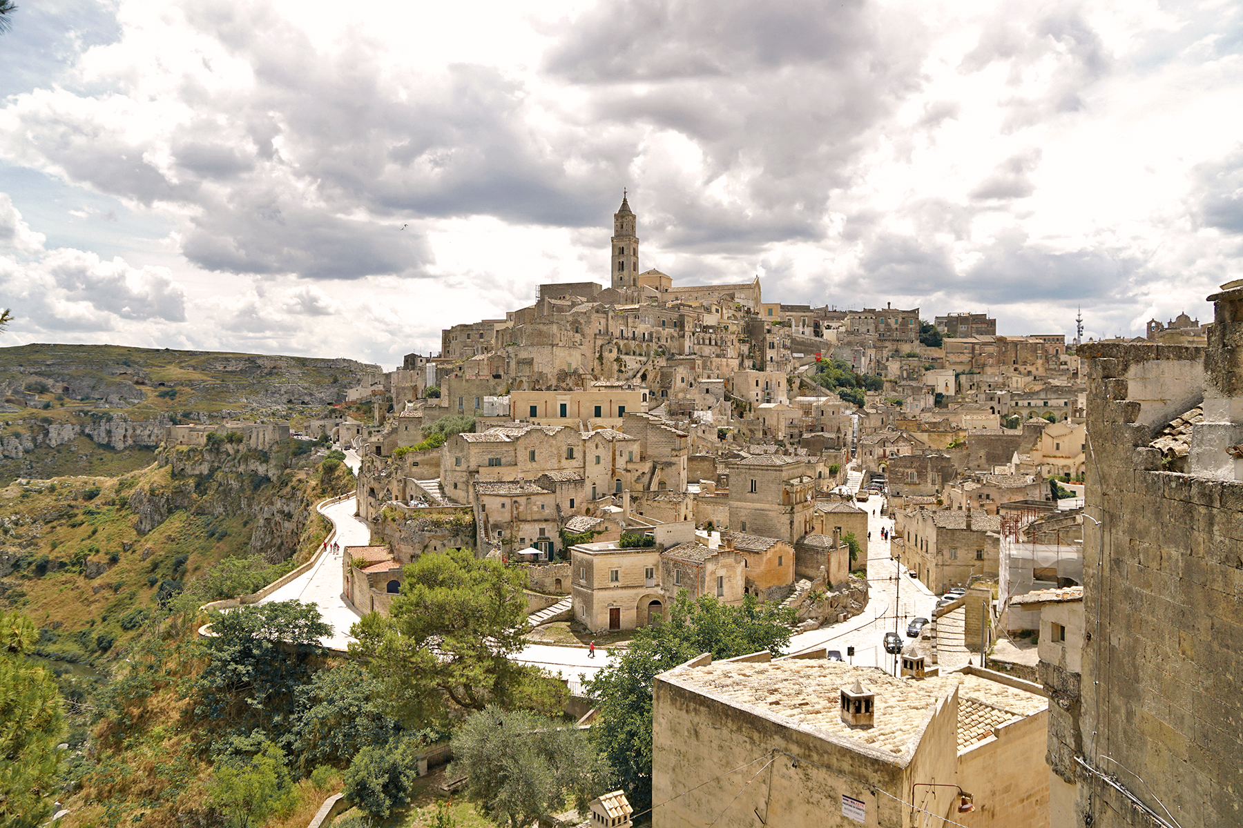 Les pouilles, Matera, Italie