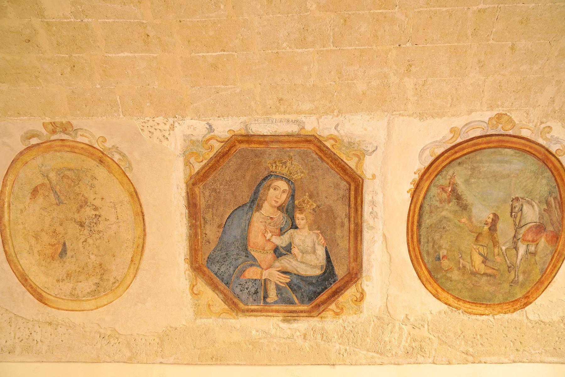 Peintures murales Matera, Italie