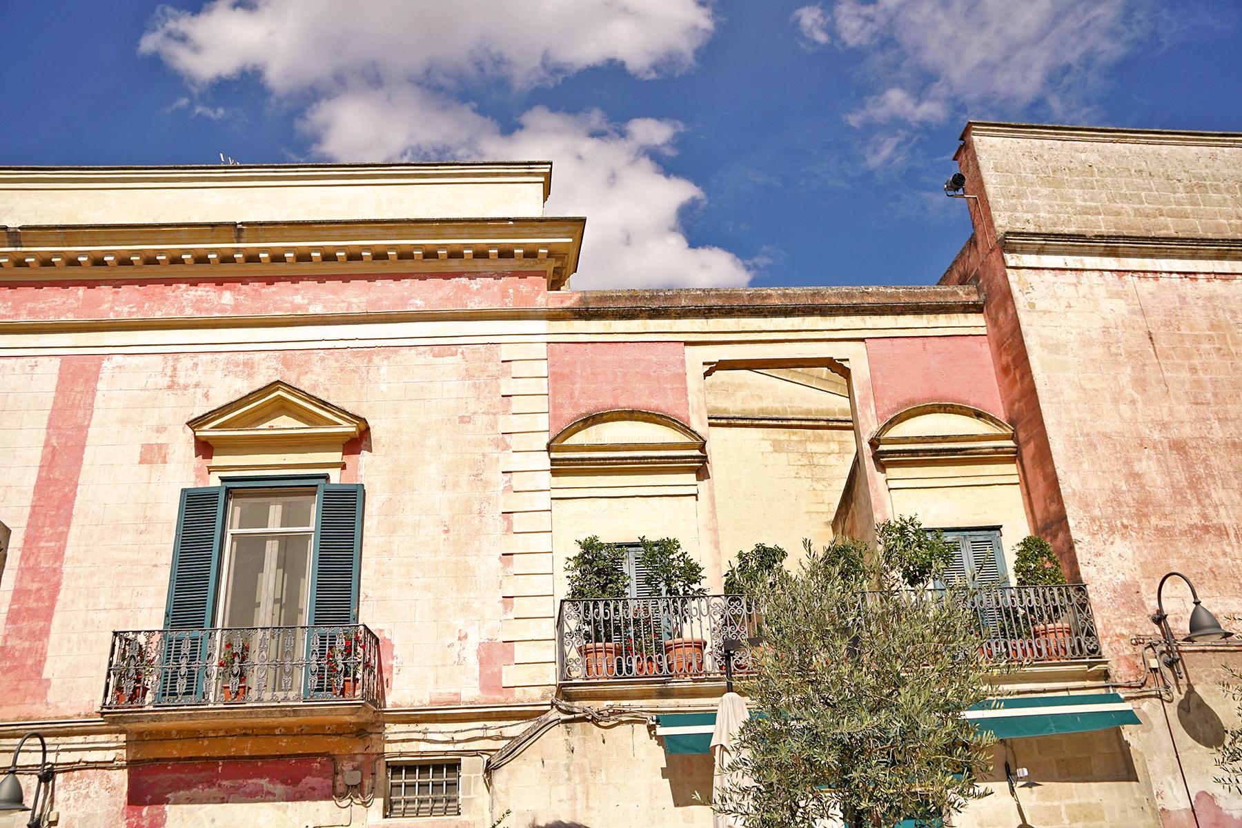 Maison rose Matera, Italie
