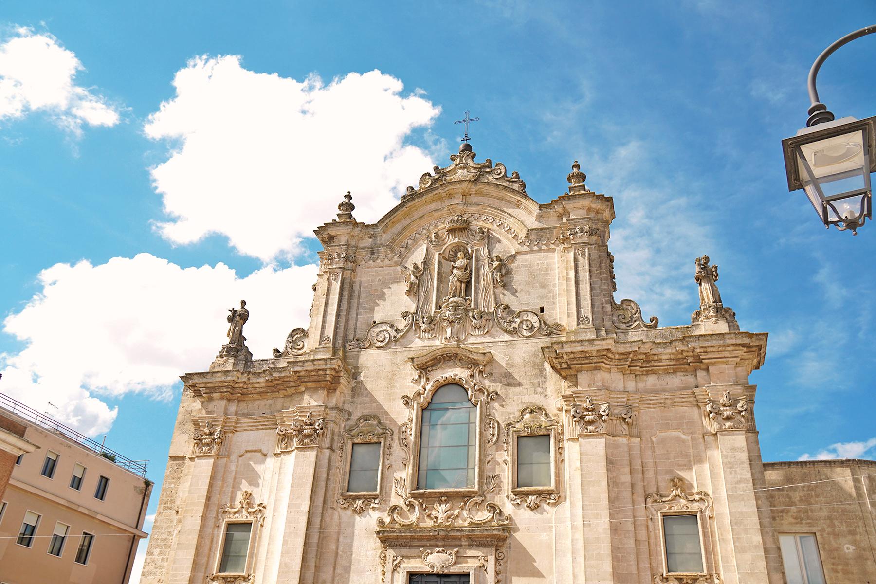 Eglise Matera, Italie
