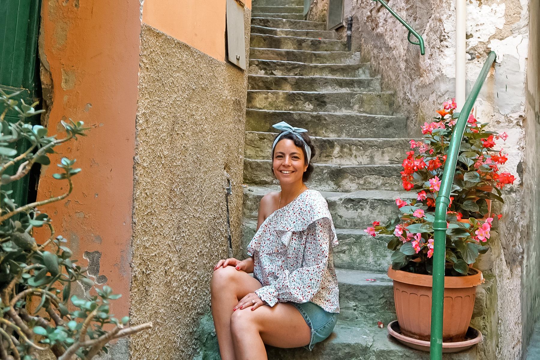 Riomaggiore, stairs