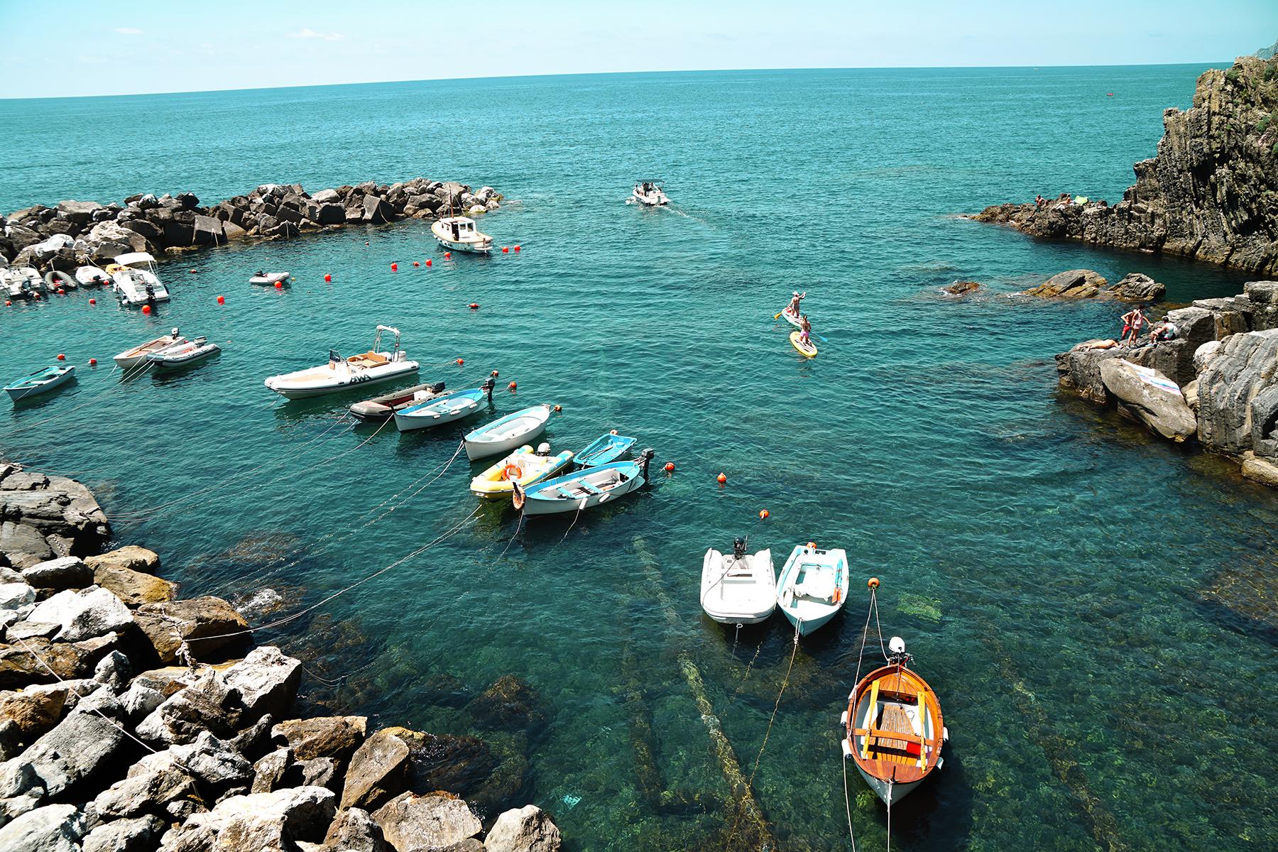 Riomaggiore, vue sur mer