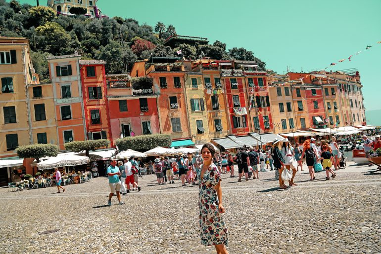 La Piazzetta, Portofino, Ligurie, Italie