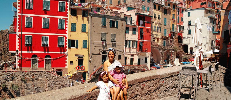Riomaggiore Cinque Terre en Famille