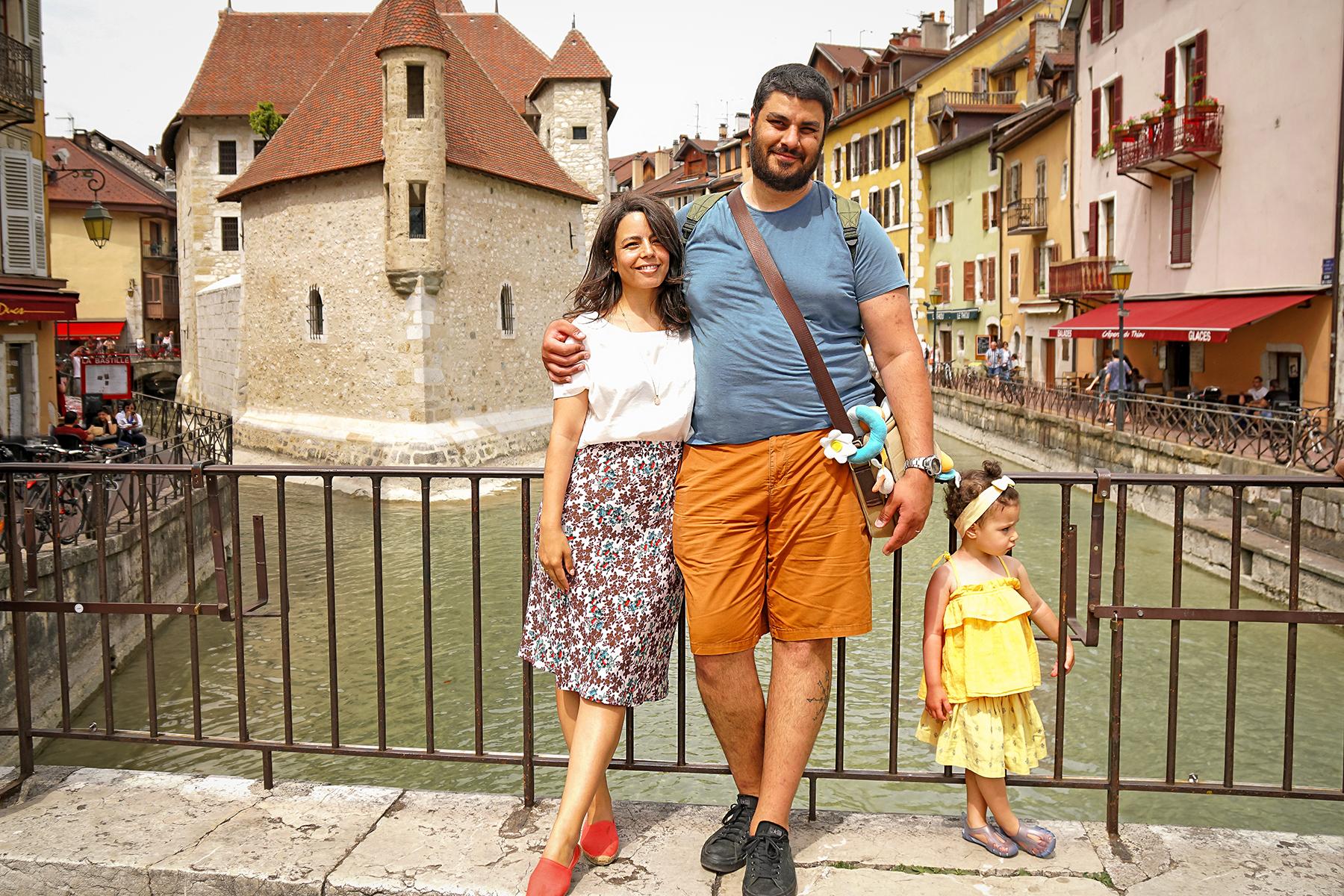 Annecy le vieux en famille, Palais de l'Ile et rivière du Thioux