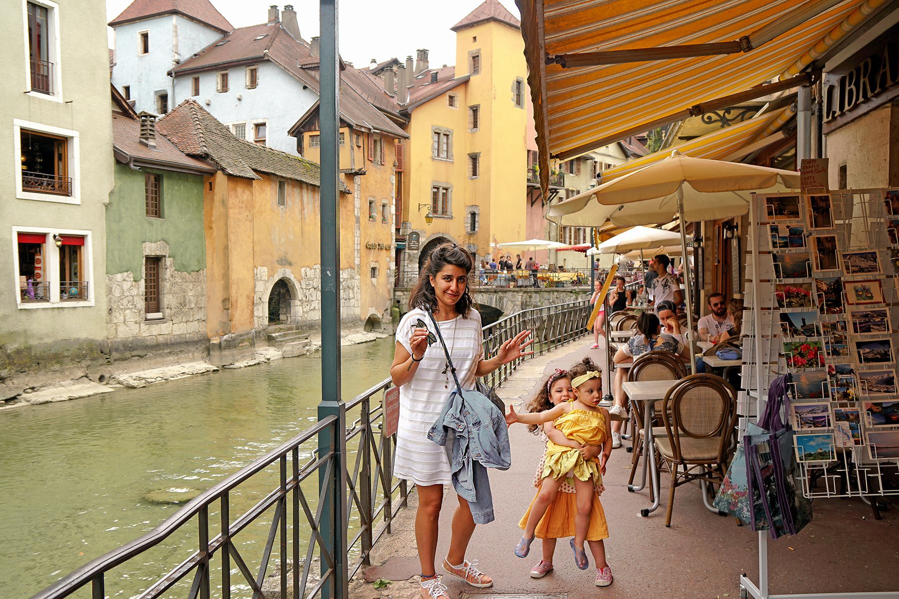 Annecy en famille, rivière du Thioux