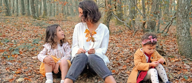 Un automne en forêt en famille