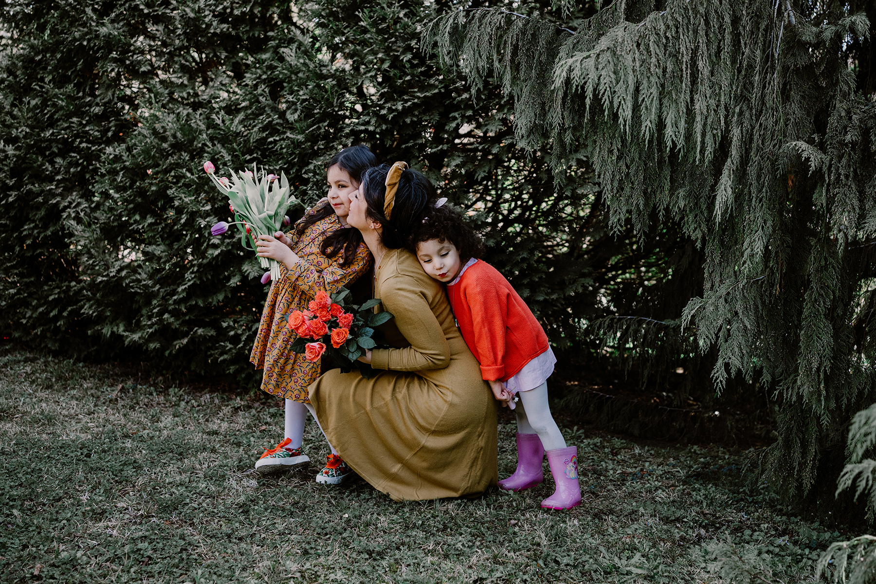 Anniversaire confiné, Coronavirus, mère et filles