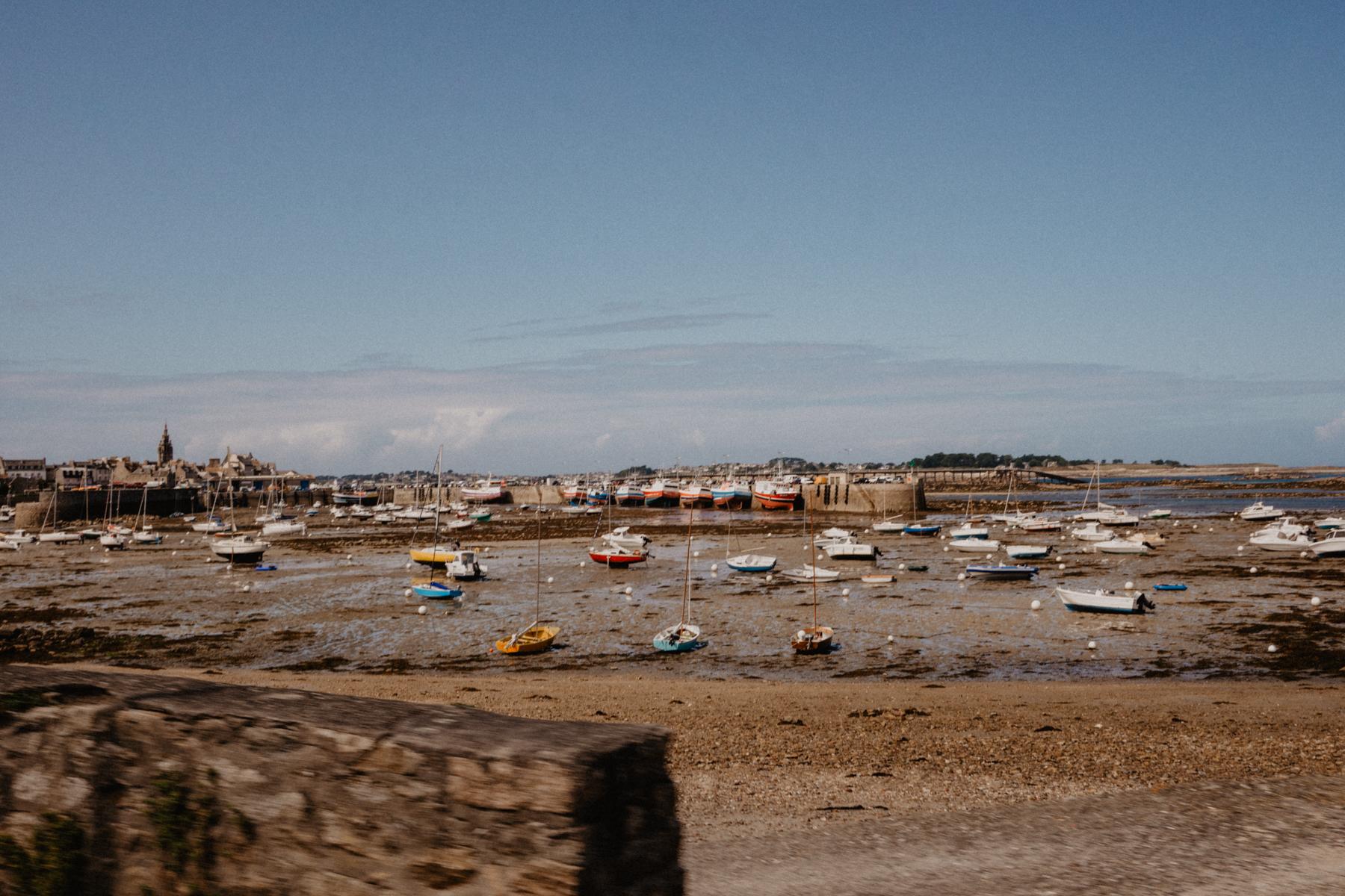 Roscoff, vieux port